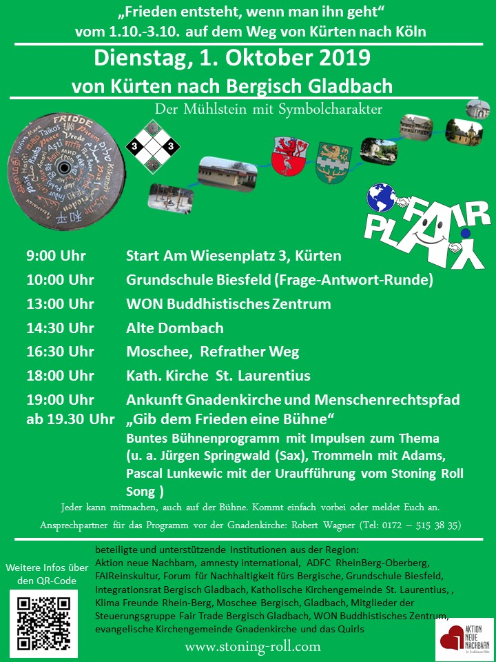 Stoning-Roll am 01.10.2019 in Bergisch Gladbach